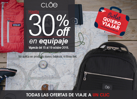 Hasta 30%OFF en Equipaje